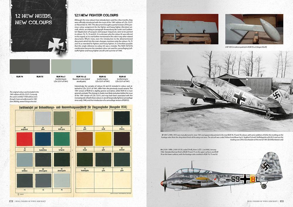 第2次大戦 エアクラフトリアルカラー 日本語版本(モデルアートAK リアルカラーNo.12320-04)商品画像_3
