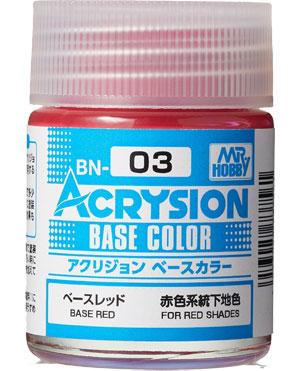 ベースレッド (BN-03)塗料(GSIクレオス水性カラー アクリジョンNo.BN003)商品画像