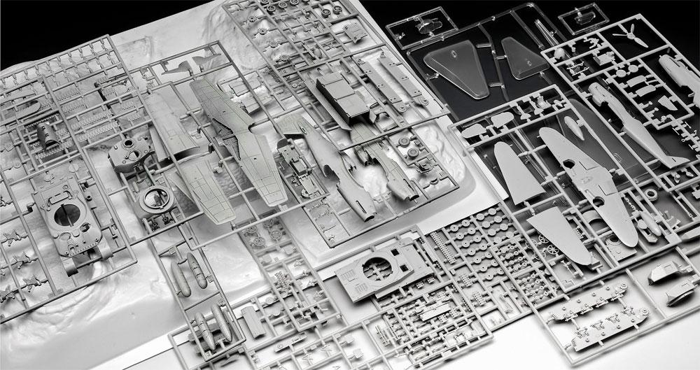 75th アニバーサリーセット D-DAYプラモデル(レベル1/72 飛行機No.03352)商品画像_1