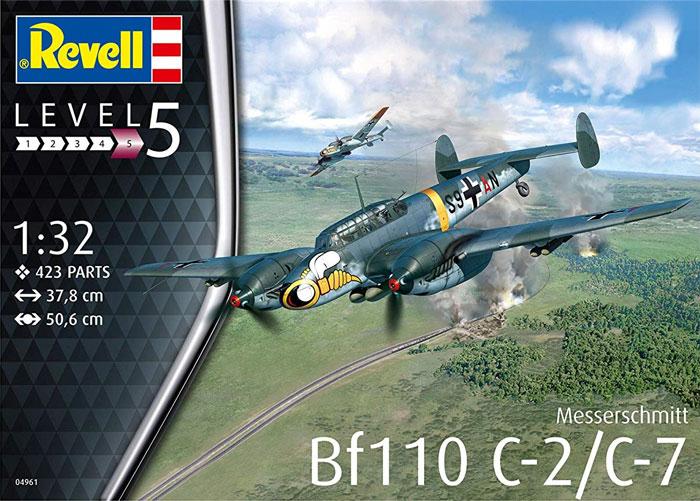 メッサーシュミット Bf110C-2/C-7プラモデル(レベル1/32 AircraftNo.04961)商品画像