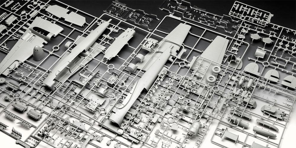 メッサーシュミット Bf110C-2/C-7プラモデル(レベル1/32 AircraftNo.04961)商品画像_1