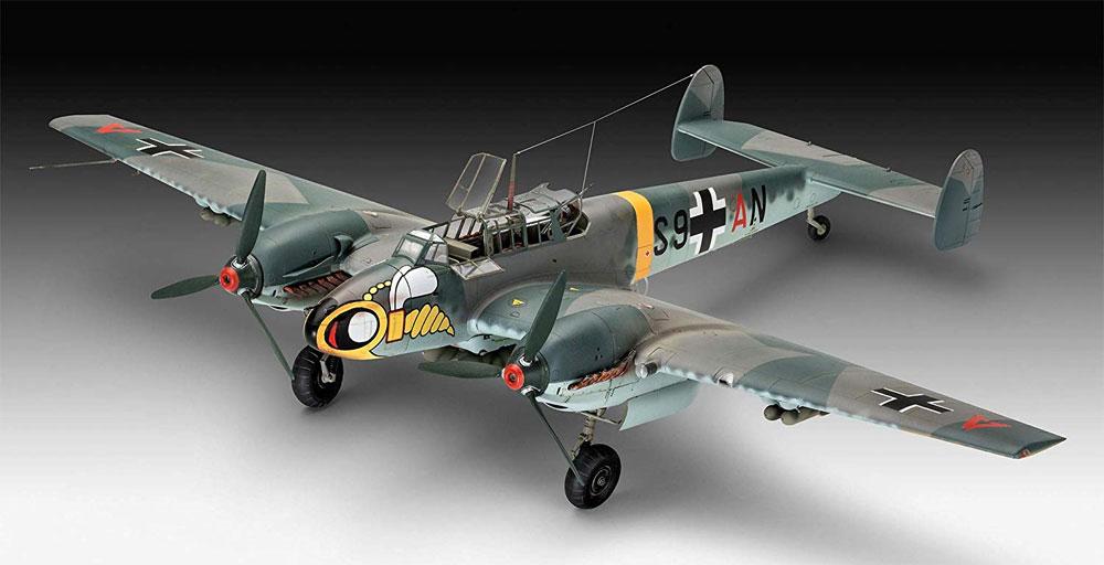 メッサーシュミット Bf110C-2/C-7プラモデル(レベル1/32 AircraftNo.04961)商品画像_2