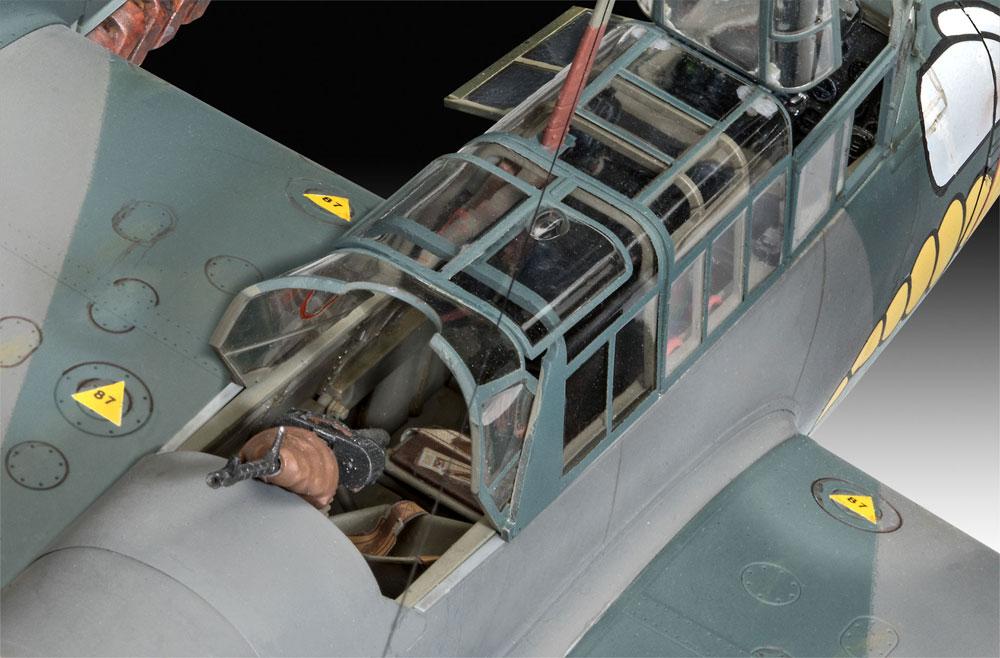 メッサーシュミット Bf110C-2/C-7プラモデル(レベル1/32 AircraftNo.04961)商品画像_3