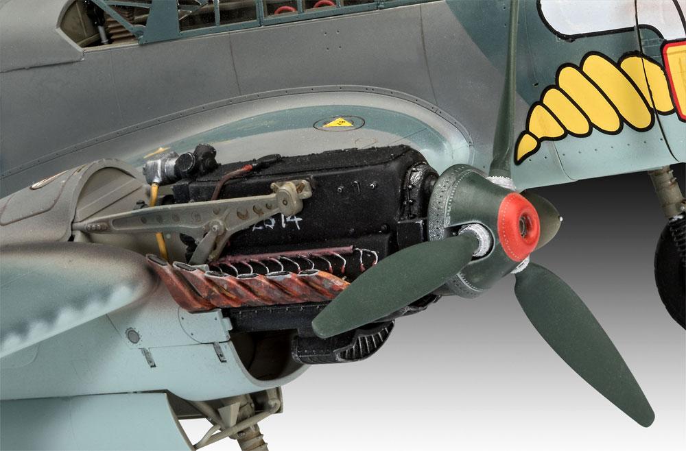 メッサーシュミット Bf110C-2/C-7プラモデル(レベル1/32 AircraftNo.04961)商品画像_4