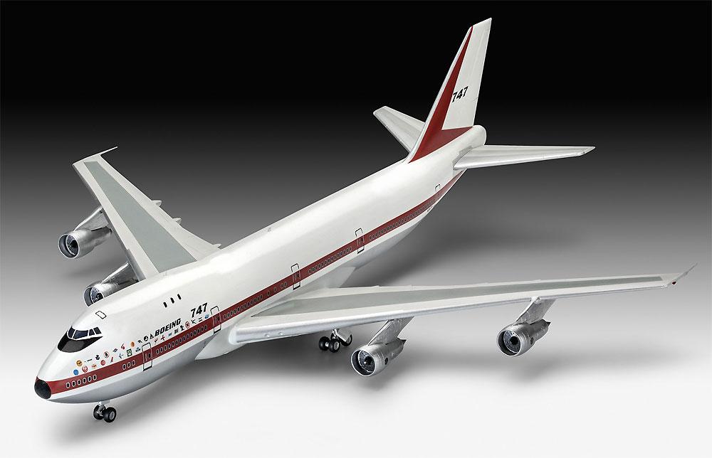 ボーイング 747-100 50thアニバーサリープラモデル(レベル1/144 旅客機No.05686)商品画像_2