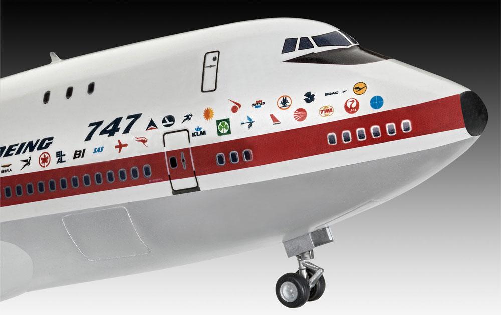 ボーイング 747-100 50thアニバーサリープラモデル(レベル1/144 旅客機No.05686)商品画像_3