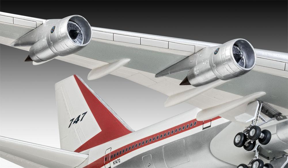 ボーイング 747-100 50thアニバーサリープラモデル(レベル1/144 旅客機No.05686)商品画像_4