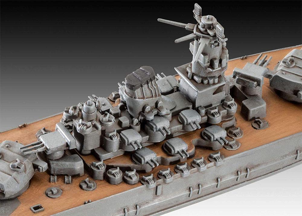 日本海軍 戦艦 武蔵プラモデル(レベルShips(艦船関係モデル)No.06822)商品画像_3