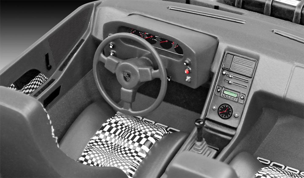 ポルシェ 928プラモデル(レベル1/16 カーモデル No.07656)商品画像_3