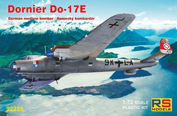 ドルニエ Do17Eプラモデル(RSモデル1/72 エアクラフト プラモデルNo.92235)商品画像