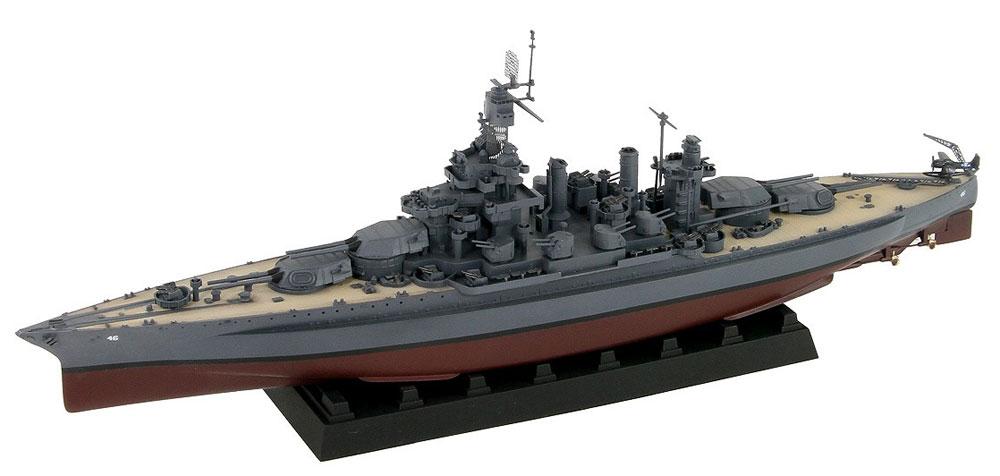 アメリカ海軍 コロラド級戦艦 BB-46 メリーランド 1945 旗・艦名プレート エッチングパーツ付きプラモデル(ピットロード1/700 スカイウェーブ W シリーズNo.W199NH)商品画像_1