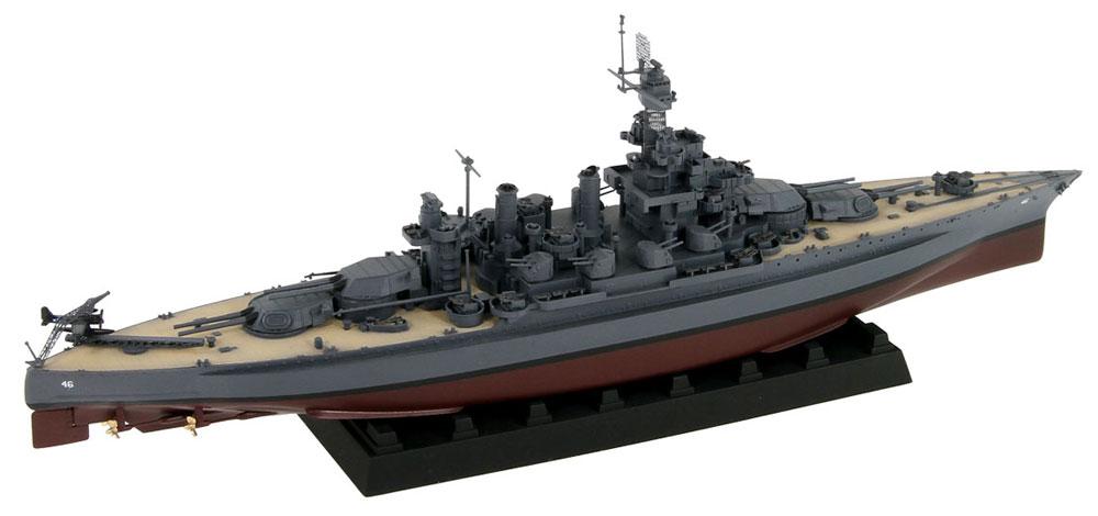 アメリカ海軍 コロラド級戦艦 BB-46 メリーランド 1945 旗・艦名プレート エッチングパーツ付きプラモデル(ピットロード1/700 スカイウェーブ W シリーズNo.W199NH)商品画像_2