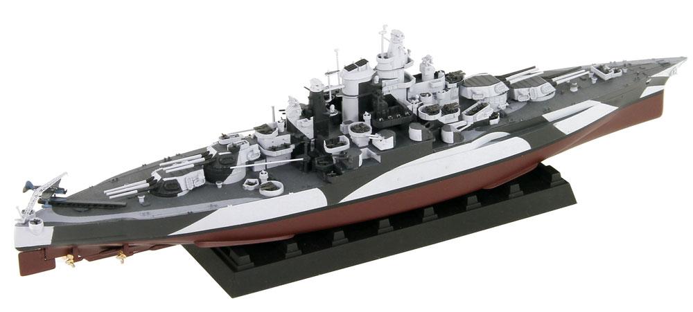 アメリカ海軍 テネシー級戦艦 BB-43 テネシー 1944 旗・艦名プレート エッチングパーツ付きプラモデル(ピットロード1/700 スカイウェーブ W シリーズNo.W202NH)商品画像_2