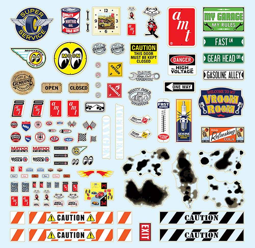 ガレージ アクセサリーセット 1プラモデル(amt1/25 カーモデルNo.AMTPPO015M/12)商品画像_2