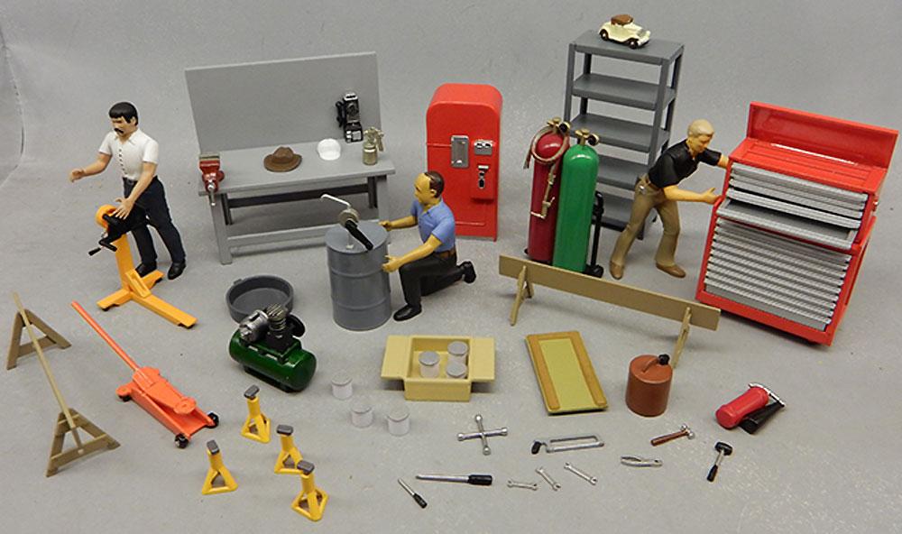 ガレージ アクセサリーセット 1プラモデル(amt1/25 カーモデルNo.AMTPPO015M/12)商品画像_3