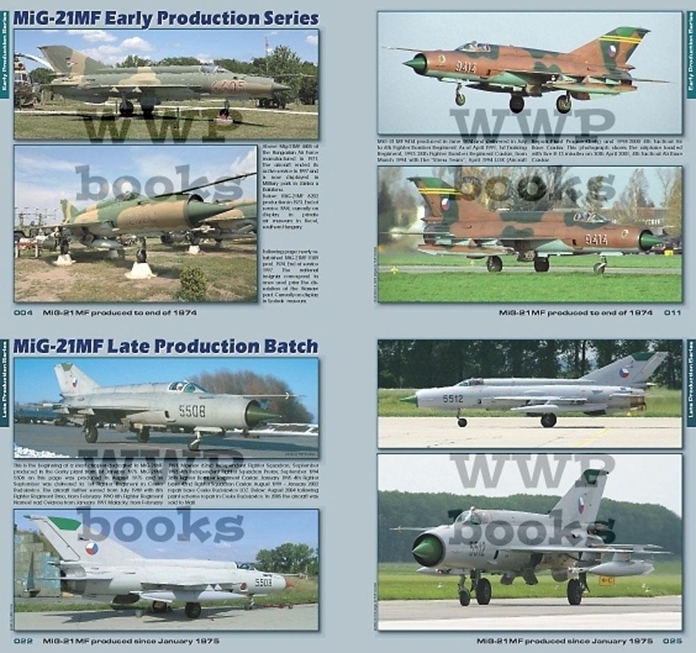 MiG-21MF/UM イン ディテール 増補版本(WWP BOOKSBlue aircraft line (ブルー エアクラフト ライン)No.B022)商品画像_1
