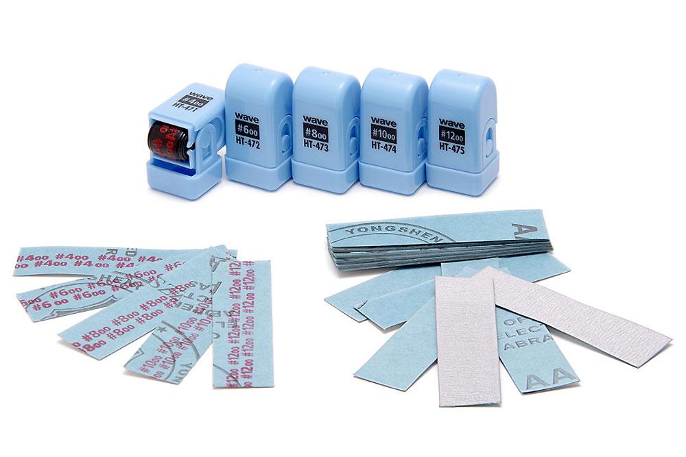 紙やすり番手スタンプ ローラータイプ #800用スタンプ(ウェーブホビーツールシリーズNo.HT-473)商品画像_3