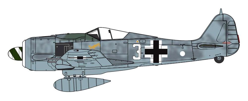 フォッケウルフ Fw190A-8プラモデル(エアフィックス1/72 ミリタリーエアクラフトNo.A01020A)商品画像_2