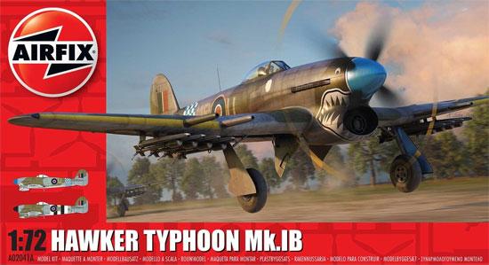 ホーカー タイフーン Mk.1Bプラモデル(エアフィックス1/72 ミリタリーエアクラフトNo.A02041A)商品画像