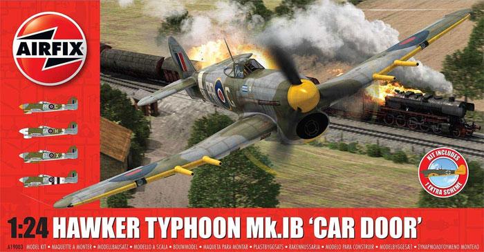 ホーカー タイフーン Mk.1B カードアプラモデル(エアフィックス1/24 ミリタリーエアクラフトNo.A19003)商品画像