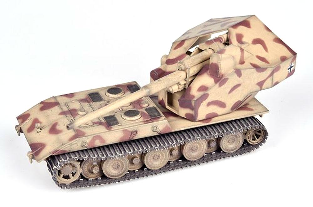 ドイツ ウェポンキャリアー E-100 w/128mm砲搭載型 砂漠迷彩 1946年完成品(モデルコレクト1/72 AFV 完成品モデルNo.MODAS72131)商品画像_2