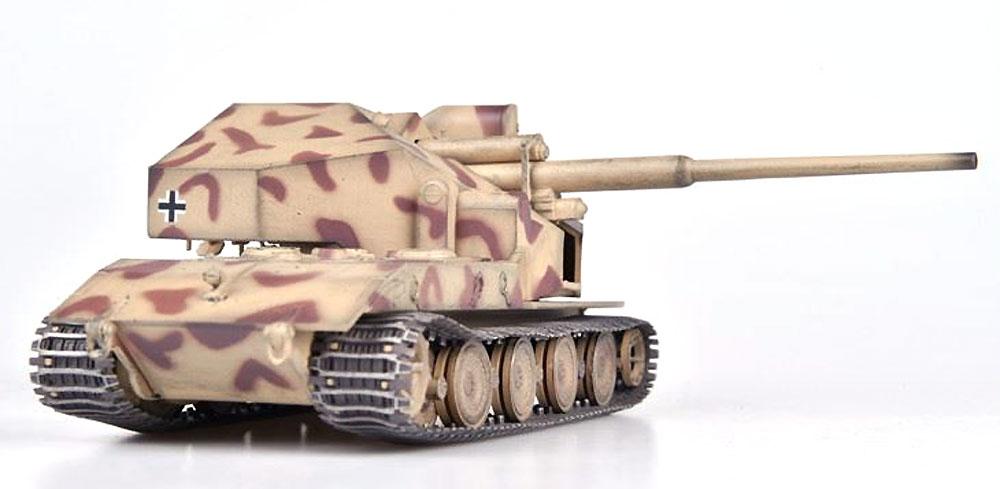 ドイツ ウェポンキャリアー E-100 w/128mm砲搭載型 砂漠迷彩 1946年完成品(モデルコレクト1/72 AFV 完成品モデルNo.MODAS72131)商品画像_3