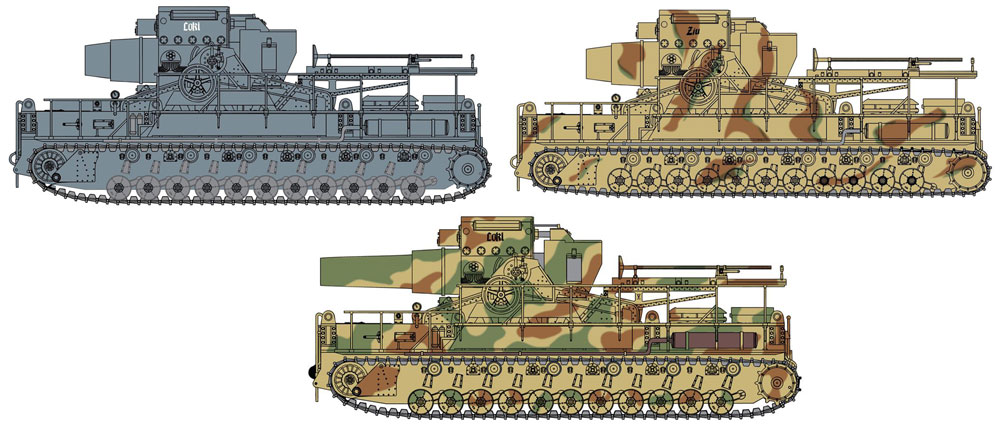 ドイツ 自走重臼砲 カール/ロキ (4 in1)プラモデル(ドラゴン1/35 '39-'45 SeriesNo.6946)商品画像_3