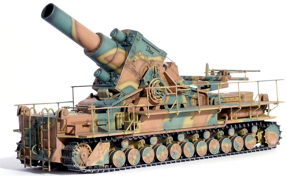 ドイツ 自走重臼砲 カール/ロキ (4 in1)プラモデル(ドラゴン1/35 '39-'45 SeriesNo.6946)商品画像_4