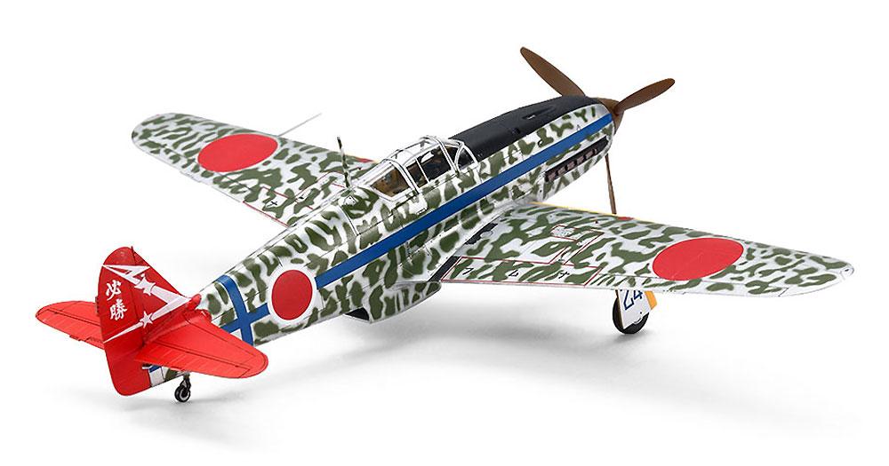 川崎 三式戦闘機 飛燕 1型丁 シルバーメッキ仕様 (迷彩デカール付き)プラモデル(タミヤ1/72 飛行機 スケール限定品No.25420)商品画像_3