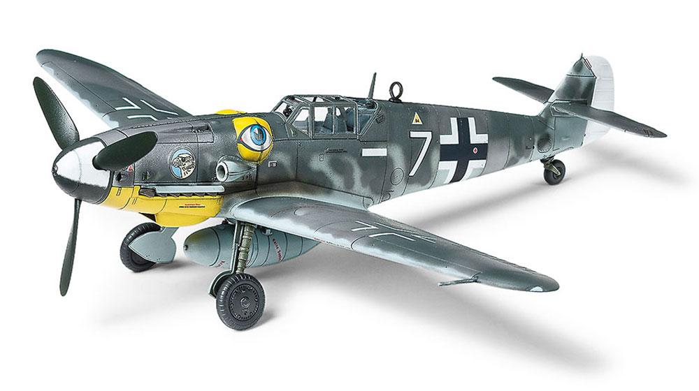 メッサーシュミット Bf109G-6プラモデル(タミヤ1/72 ウォーバードコレクションNo.090)商品画像_2