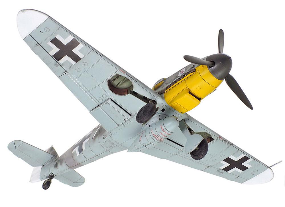 メッサーシュミット Bf109G-6プラモデル(タミヤ1/72 ウォーバードコレクションNo.090)商品画像_4