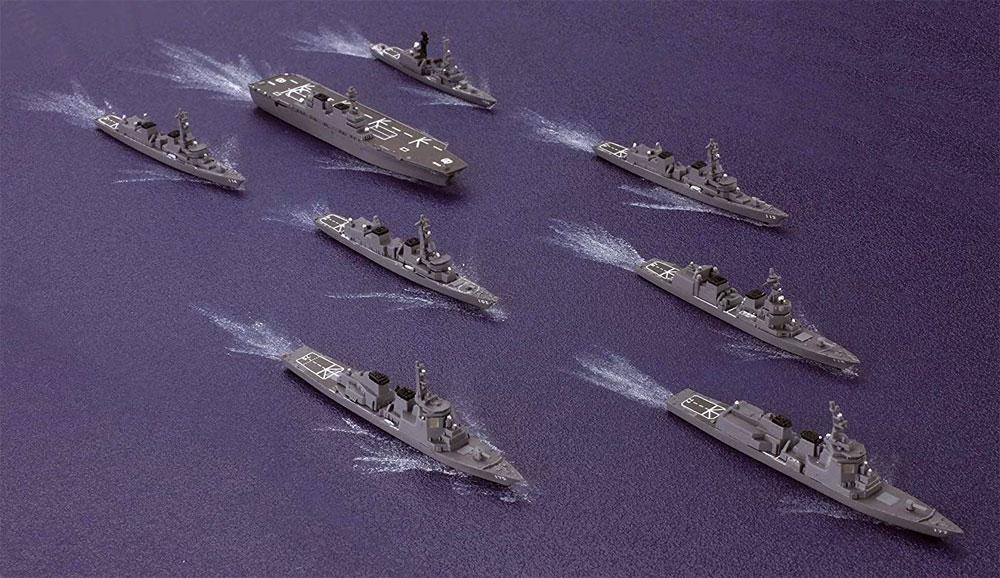 海上自衛隊 第3護衛隊群プラモデル(フジミ集める軍艦シリーズNo.032)商品画像_4