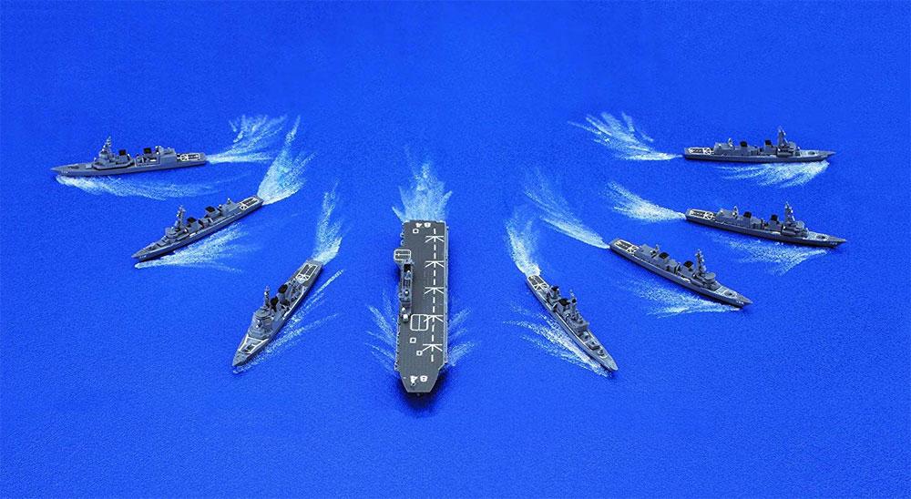 海上自衛隊 第4護衛隊群プラモデル(フジミ集める軍艦シリーズNo.033)商品画像_2
