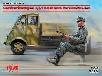 ルノー AHN 3.5t ドイツ アーミートラック w/ドライバー