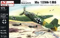 AZ model1/72 エアクラフト プラモデルメッサーシュミット Me109H-1/R6