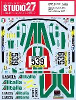 スタジオ27ラリーカー オリジナルデカールランチア ストラトス ターボ #539 ジロ・デ・イタリア 1977年 デカール