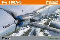 エデュアルド1/72 プロフィパックフォッケウルフ Fw190A-8