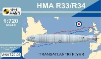 イギリス R33/R34 飛行船 大西洋横断機