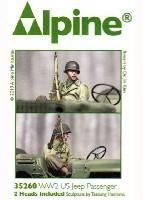 アルパイン1/35 フィギュアWW2 アメリカ陸軍 斥候へ向かう搭乗兵