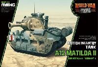MENG-MODELWORLD WAR TOONSイギリス 歩兵戦車 A12 マチルダ 2