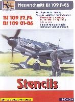 メッサーシュミット Bf109F-G6 ステンシル