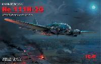 ICM1/48 エアクラフト プラモデルハインケル He111H-20 爆撃機