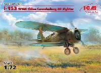 ICM1/72 エアクラフト プラモデルポリカルポフ I-153 チャイカ 中国 国民党空軍