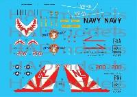 アメリカ海軍 F-14A トムキャット VF-111 サンダウナーズ ミス モーリー デカール