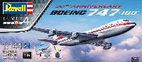 レベル1/144 旅客機ボーイング 747-100 50thアニバーサリー