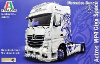 メルセデス ベンツ アクトロス MP4 ギガ スペース ショウ トラック