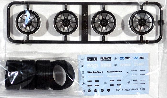 ボルクレーシング CE28N (19インチ)プラモデル(アオシマ1/24 Sパーツ タイヤ&ホイールNo.116)商品画像_1