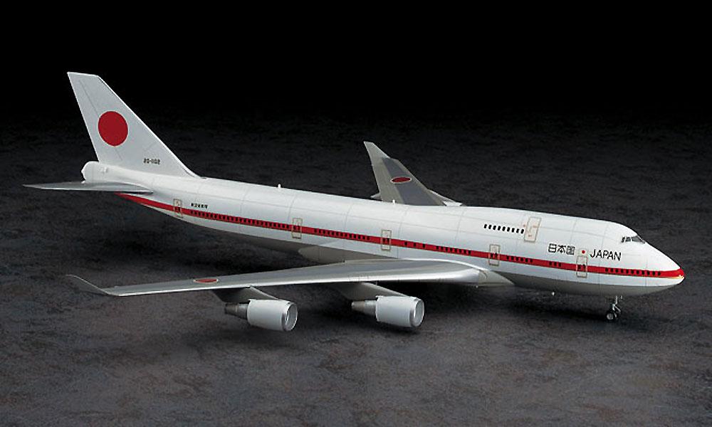 日本政府専用機 ボーイング 747-400プラモデル(ハセガワ1/200 飛行機シリーズNo.009)商品画像_2