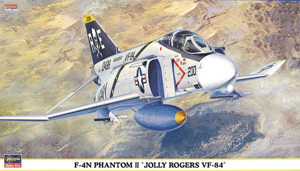 F-4N ファントム 2 ジョリーロジャース VF-84プラモデル(ハセガワ1/72 飛行機 限定生産No.00367)商品画像