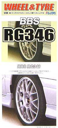 BBS RG346 (17インチ)プラモデル(フジミ1/24 パーツメーカーホイールシリーズNo.035)商品画像